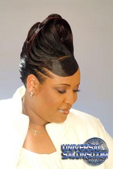 Updo Hairstyle with Ridges from Garnett Jett