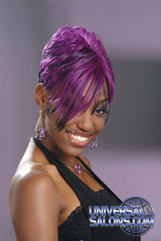 COLOR HAIR STYLES from_____TAISEKA MOORE-ROSE