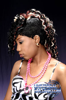"""Rocked Out Mohawk "" Hairstyle from Yolanda Service"