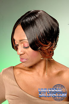 Medium Hairstyle with Color from @ Leslie Brown