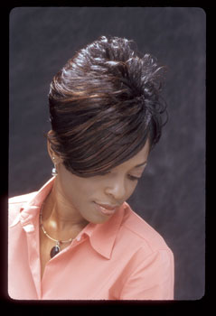 MEDIUM HAIR STYLES from__TALITHA JOHNSON.