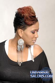 SHORT HAIR STYLES from________KENYETA ROSS