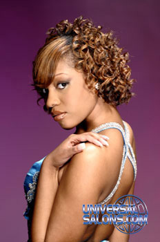 Curly Mid-Length Hairstyle from Constance Purnell