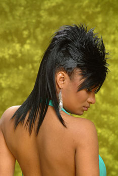 MOHAWK HAIR STYLES__From___@MONIQUE MORRIS