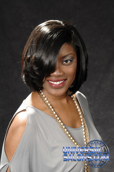 Dezjuan Jackson's Medium Length Bob Hairstyle