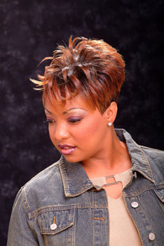 SHORT HAIR STYLES from`TODRA CAULEY
