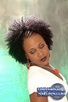 NATURAL HAIR STYLES  from AJA GREENE