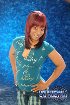 COLOR HAIR STYLES from>>>>>COREY ROBINSON