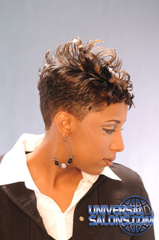 SHORT HAIR STYLES__from__AJA GREENE!!