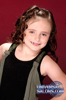 Cute Kid's Hairstyle from Tenika Brantley
