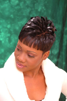 SHORT HAIR STYLES from `BIG BABY ` KESHA THOMAS