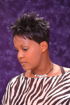 SHORT HAIR STYLES from__AYANNA GRAVES