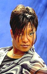 Short Whispy Hairstyle from Pamela Holt Blackstock