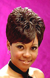 A Short Curly Hairstyle from Monica Walls