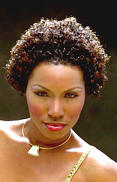 A Natural Curly Hairstyle from Christie Harrison