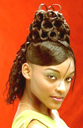 Curly Updo Hairstyle from Christie Harrison