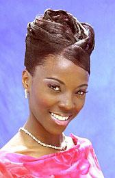 Elegant Updo Hairstyle from Latoya Vankook