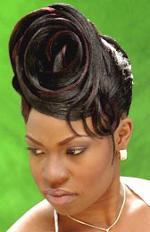 Updo Hairstyle from Debra Woods