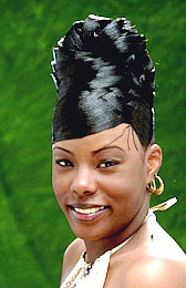 Elegant Updo Hairstyle from Katresha Cartwright