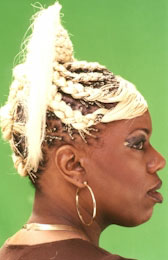 Braids Hairstyle with Color from Latoya Vanhook