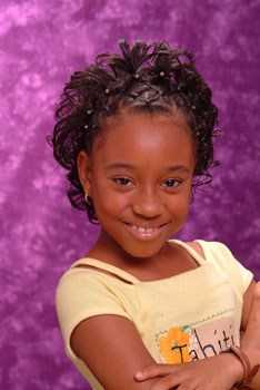 Intricate Cornrow Designs Black Hairstyles for Little Girls
