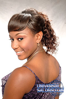 PONYTAIL HAIR STYLES from LACEY SINGLETON