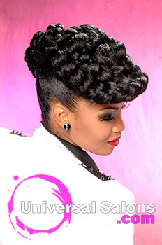 Couture Hairstyle from Micheline Barber