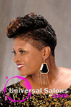 """Shanna Cato's """"Blond Diva"""" Short Hairstyle with Highlights"""