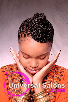 Nacole Brown's Beautiful Braids Hairstyle