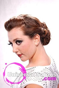Red Carpet Whimsical Updo Hairstyle from Jennie Kasbohm