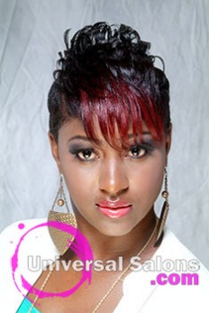 Short Pixie Cut Hairstyle from Aniya Oden