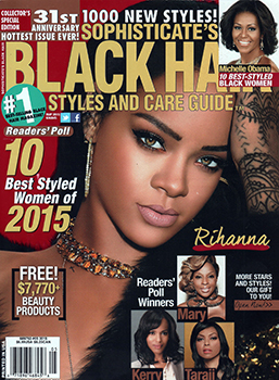 Sophisticate's black Hair Styles and Care Guide May 2015