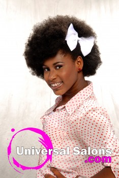 Natural Afrocentric Hairstyle from Tonisha Kenty