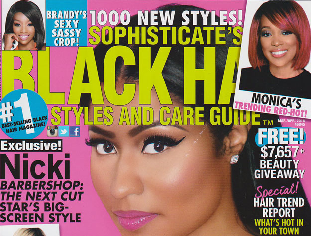 Universal Salons Gets 11 Hairstyles in National Publication