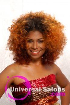 """Dre' Ramseur's """"Sunrise"""" Hair Color Technique"""