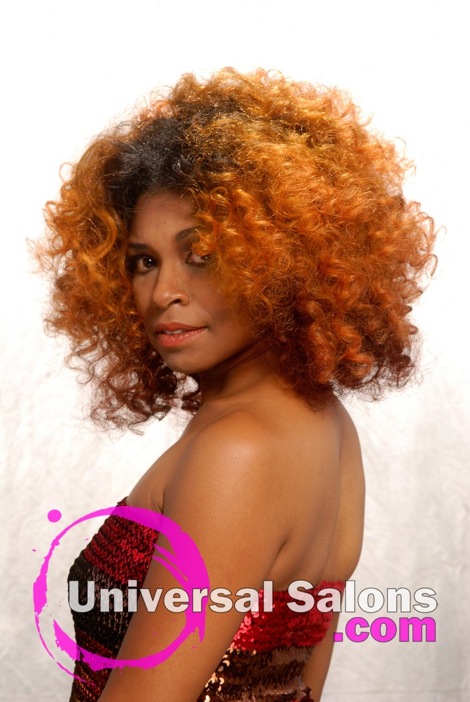 "Dre' Ramseur's ""Sunrise"" Hair Color Technique"