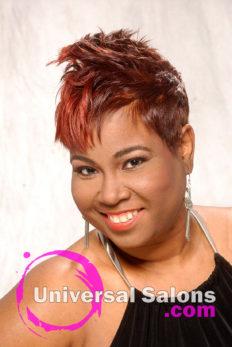 Short Spiked Hair Cut For Black Women from Dre' Ramseur