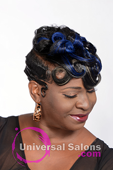 Ocean Waves Hairstyle with Pin Curls from Deedra McLeod