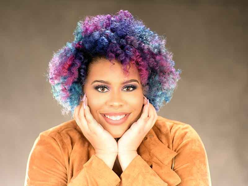 Rainbow Hair Color Ideas for black Women