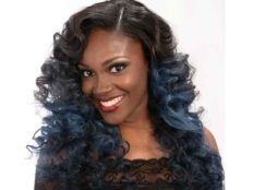 Long Curly Hairstyle for Black Women from Jacqard Daniels Cover