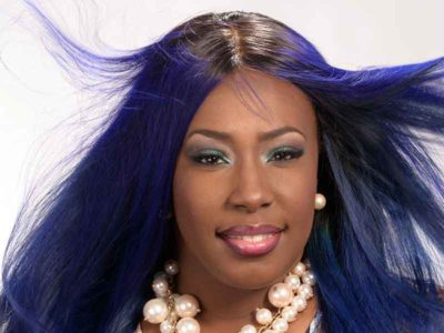 Long Royal Blue Hair Weave for Black Women from Celestine Lee Rutherford