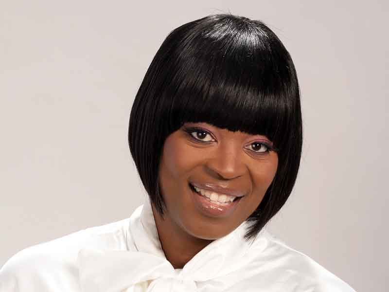 Short Cleopatra Hairstyle for Black Women from Shana Lucky