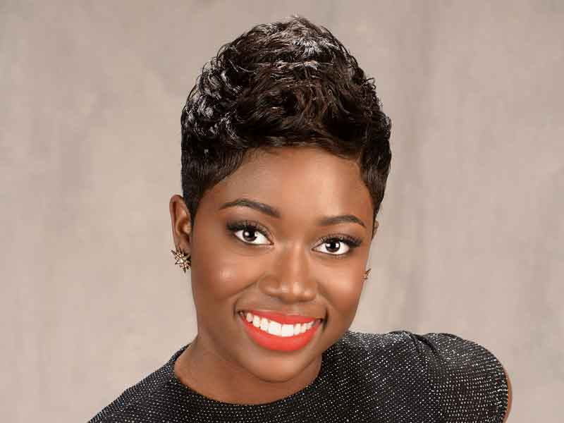 short hairstyles for black women pixie haircut