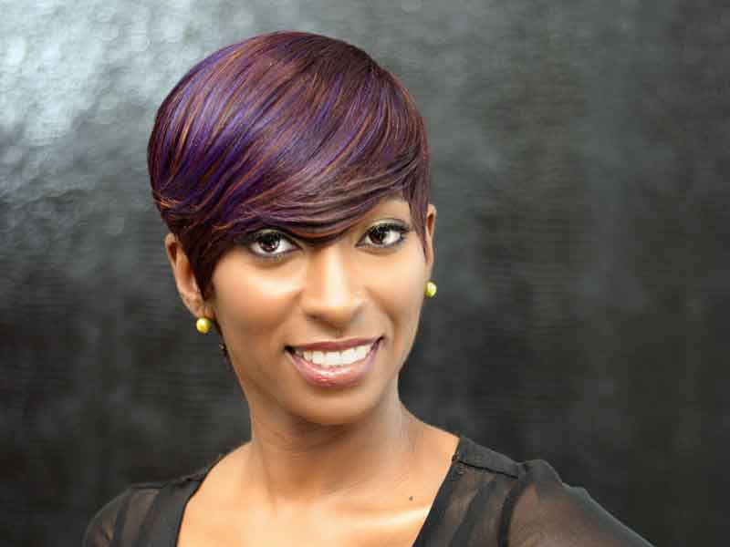 Short Hairstyle with Quick Weave