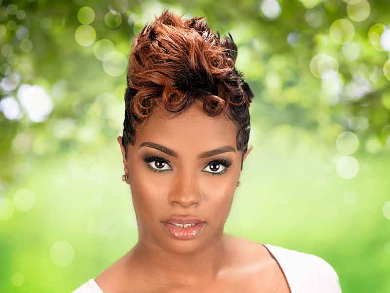 Short Hairstyle for Black Women