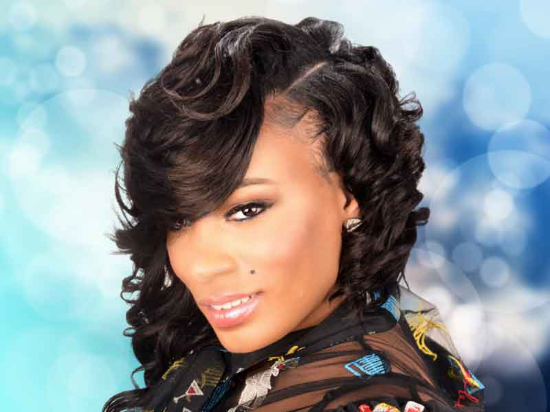 Elegant Sew-In Bob Hairstyle from Amber McClain