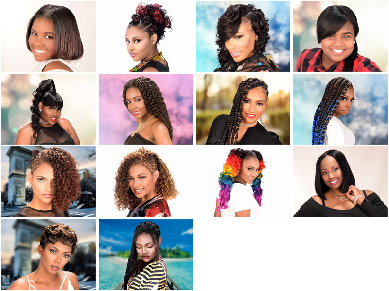 """Choose the """"People's Choice Hairstyle"""" From Our Ft. Walton Beach, FL Photoshoot"""