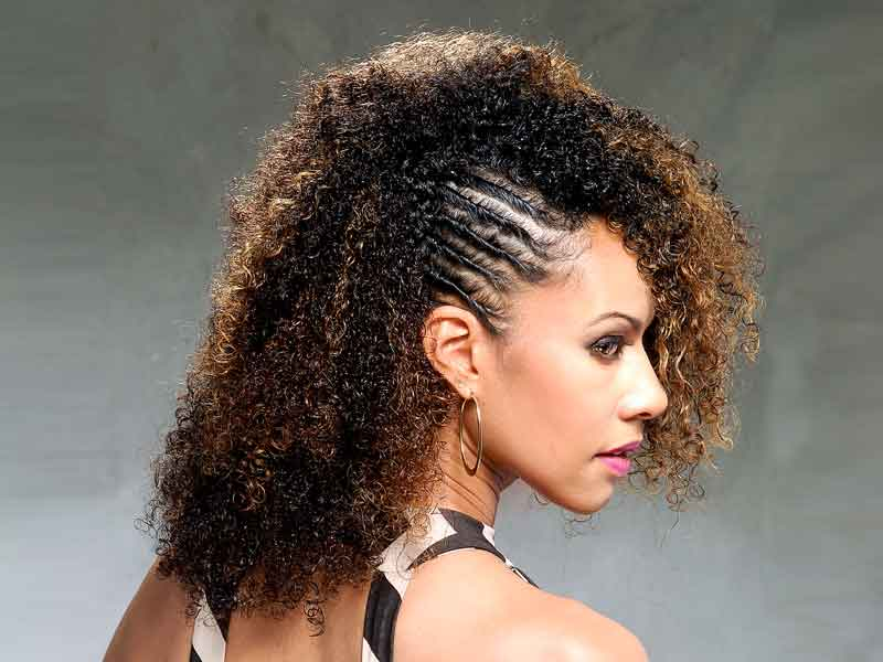 This Curly Natural Hairstyle is Versatile and Chic from Talia Brown Williams