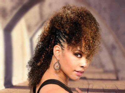 Twisted Fohawk for Black Women