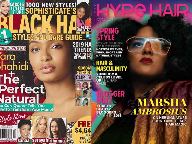 UniversalSalons.Com Magazine Photo Shoots Get 26 Hairstyles Published in Major Publications
